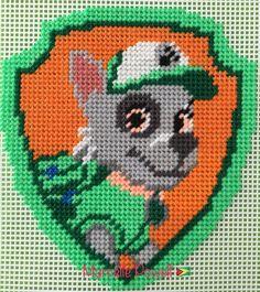 Cross Stitch Paw Patrol (ROCKY) by Marcelle Powell ❤️