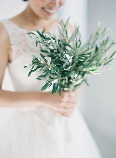 Santorini Wedding   Olive Bouquet   Reem Acra Wedding Dress   Antique Greek Car Rental   Navy Blue Suits   Light Blue Bridesmaids Dresses   Greece Wedding   JenHuangPhoto.com
