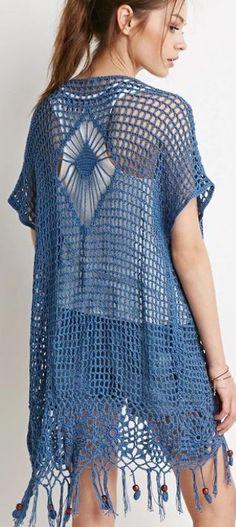 ergahandmade: Crochet Vest + Diagrams