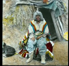 """Grand Canyon - """"KOHOT NAVAHO'S WIFE"""" - Havasupai - Circa 1900. Historic photo from Grand Canyon National Park's Museum Collection, National Park Service"""