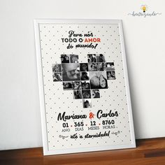 Diy Presents, Diy Gifts, Ideas Aniversario, Photo Quilts, Romantic Gifts For Him, Bday Cards, Love Posters, Dear Future Husband, Boyfriend Anniversary Gifts