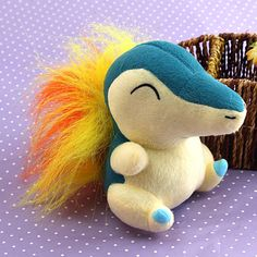 Pokemon Soft Toy Cyndaquil Character Plush Stuffed Animal Cuddly Doll Teddy  | Игрушки и хобби, Фигурки из ТВ-программ и фильмов, Покемон | eBay!