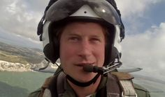 royalista:  Prince Harry took a ride in a spitfire to promote the Prince Harry Spitfire Scholarship, August 2014