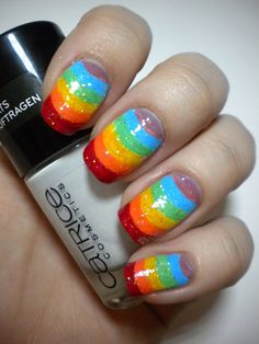 31 Day Challenge - Rainbow Nails - 09. DAY