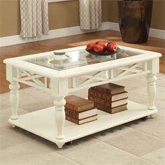 Avion Caster Coffee Table I Riverside Furniture