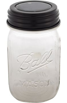 Add this solar lid to any regular mason jar and you'll have amazing outdoor lighting!