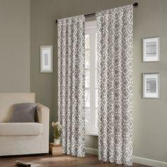 Madison Park 'Ella' 84-inch Curtain Panel