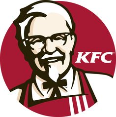 Red is known to be a dynamic colour. With KFC using this as their main color in the logo, red is also known to induce hunger