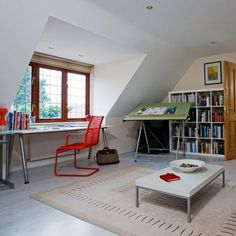 attic office ideas. cool attic home office design ideas shelterness f