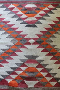 Antique Hand Woven Navajo Eye Dazzler by mountainmantrading Native American Blanket, Native American Rugs, Native American Patterns, Indian Patterns, Navajo Art, Navajo Rugs, Navajo Weaving, Hand Weaving, Tablet Weaving