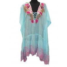Antica Sartoria Blue / Pink  Dress ASC687