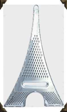 Unique Kitchen Gadget: Eiffel Tower Grater - this would just be fun and look nice on a counter