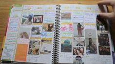 How I Incorporate Photos into my Erin Condren Life Planner #EClifeplanner #erincondren