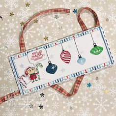 Karla Yungwirth Designs: Kraftin' Kimmie Stamps Challenge #541 - Christmas In July!