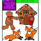 This is a {FREE} set of Gingerbread clipart which is the perfect add-on to my complete Gingerbread set of clips. Included are the color versions an...
