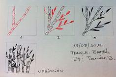 Patrón Bambú by Taman B, via Flickr