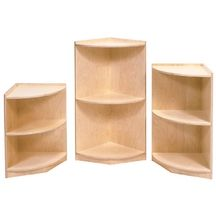 Discount School Supply - Curved End Storage Units....Troy build for my counting jars