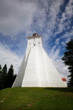 Kõpu lighthouse, Hiiumaa island, Estonia Baltic Region, Lighthouses, Fair Grounds, Around The Worlds, Island, Sea, Travel, Light Fixtures, Viajes