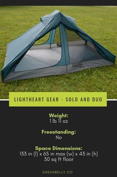 Gear guide to the best ultralight backpacking tents. Ultralight 1 person, 2 person, nylon, cuben fiber, dyneema, freestanding and non-freestanding tents tested by Appalachian Trail and Pacific Crest Trail thru-hikers. #ultralightgear #backpacking #appalachiantrail #ultralighttent #backpackingtent
