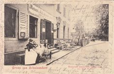 Gruss aus Schulzendorf (Heiligensee) - Restaurant Sommerlust. Um 1903