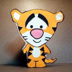 Handmade Disney Tigger Cuties Card Cardstock by justcreativecards, $3.50