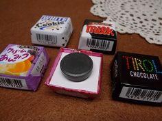 チロルチョコマグネット完成 Diy And Crafts, Projects To Try, Chocolate, Recipes, Handmade, Naver, Kids, Crafting, Young Children