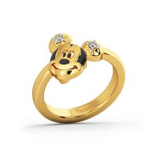 The Mickey Ring For Kids Online Gold Jewellery India Buy Gold Jewellery Online, Gold Jewelry, Kids Online, Yellow, Rings, Designers, Stuff To Buy, Traditional, Collection