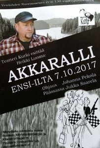 Akkaralli kenraali 6.10.2017 Vesilahden Nuorisoseura ry