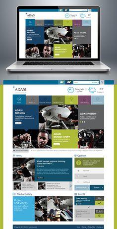 sharepoint intranet portal on Behance Sharepoint Design, Sharepoint Intranet, Intranet Design, Corporate Design, Business Design, Intranet Portal, Clean Web Design, Portal Design, Digital Web