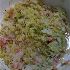 Norwegian Christmas Cabbage Allrecipes.com. I made this dish wonderful taste. However, if I were to make it again I would use less bacon and very little sugar or no sugar.