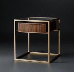"Kennan Square Side Table DIMENSIONS 20"" sq., 22""H 950"