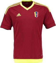 Adidas camiseta de Venezuela para la Copa América de Chile 2015