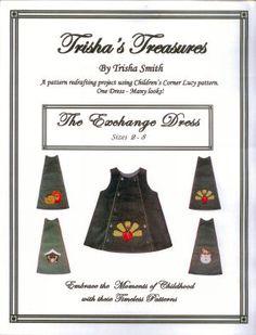 The Exchange Dress by Trisha's Treasures - size 2 thru 8