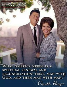 PRESIDENT Ronald Reagan - what a wise & respected man!  Miss him & that beautiful smile!
