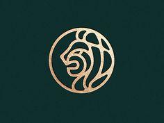 One logo, elegant logo, lion illustration, animal illustrations, logo brand Investment Bank, Banks Logo, Money Logo, Lion Illustration, Animal Illustrations, Lion Logo, Tiger Logo, Lion Design, Luxury Logo