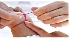 The red thread is a miracle: you certainly do not know the significance . - - The red thread is a miracle: you certainly do not know the meaning of the red thread on your wrist! Home Remedies, Natural Remedies, Natural Health Magazine, Salud Natural, Positive Attitude, The Conjuring, Reiki, Healthy, Miracle