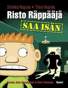 Risto Räppääjä saa isän Comic Books, Comics, Cover, Movie Posters, Film Poster, Cartoons, Cartoons, Comic, Comic Book
