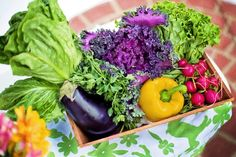 The basic rule of the green diet is: eat more green fruits and vegetables - so you will speed up the metabolism. So, this diet is primarily intended for people who want fruit, vegetables and Small Vegetable Gardens, Vegetable Garden Planning, Vegetable Garden For Beginners, Gardening For Beginners, Gardening Tips, Vegetable Gardening, Veggie Gardens, Organic Vegetables, Fruits And Vegetables