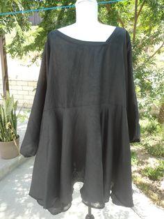 The Skullz London Black Linen Lexi Tunic.  Skullzlondon.com