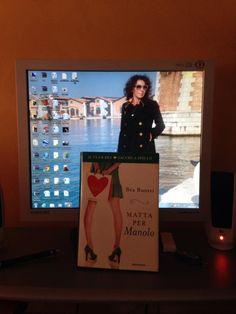 Grazie a Bea Buozzi che conosce i miei punti deboli ... — con Bea Buozzi. Foto di Brunella Vedani