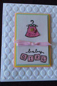 Happy Birthday Games, Nerd Birthday, Baby Girl Pink Dress, Pink Girl, Happy Birthday Greeting Card, Birthday Cards, Baby Girl Cards, Dress Card, Birthday Photos