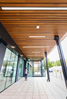 The refurbishment at Queen Marys Hospital, Sidcup, was brought up to date with a fresh & modern look that will stand the test of time
