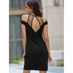 Fashionable Round Neck Voile Splicing Hollow Out Dress For Women #shoes, #jewelry, #women, #men, #hats, #watches, #belts