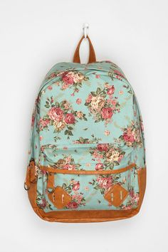 52acb2a9c3e Carrot Exploding Floral Backpack Pretty Backpacks, Awesome Backpacks,  Colorful Backpacks, Floral Backpack,