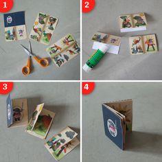 Mini book DIY