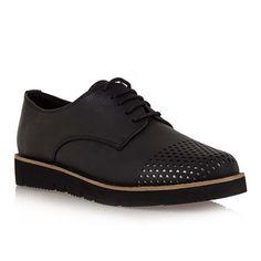 Seven Γυναικεία Oxfords (Μαύρο) Men Dress, Dress Shoes, Oxford Shoes, Lace Up, Sneakers, Fashion, Leotards, Tennis, Moda