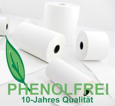 Phenolfreie Thermorollen - www.meister-papier.de