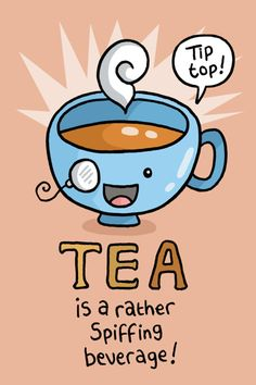 I just love that little tea cup!  I think I'll go make some tea now!  :)