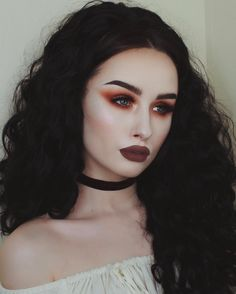 "500 Likes, 11 Comments - Rachel Georgina ☥ (@rachelgeorgina) on Instagram: ""I think I'm getting a cold  but doing makeup always makes me feel better  ______ EYES:…"""
