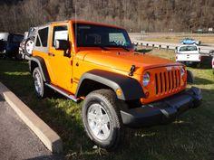1C4AJWAG9CL193025 - 2012 Jeep Wrangler Sport - $30975 - 304-369-2411